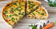 Whether vegetable cake or vegetable quiche called, this recipe for the vegetarian . - Whether vegetable cake or vegetable quiche called, this recipe for the vegetarian vegetable quiche is simply gorgeous. Everybody should try this quiche! Tart Recipes, Pizza Recipes, Vegetable Recipes, Baking Recipes, Quiche Recipes, Burger Recipes, Vegetable Cake, Vegetable Quiche, Vegetarian Lunch