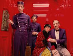 The Grand Budapest Hotel - great movie, a visual treat, Ralph F. is amazing