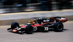 1974 McLaren chassis- No.3Rutherford; No.73David Hobbs(5th place-Team car)