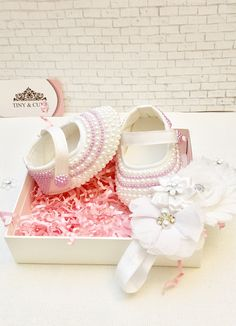 Girls Glitter Shoes, Baby Shoes, Decorative Boxes, Kids, Infants, Children, Kid, Child