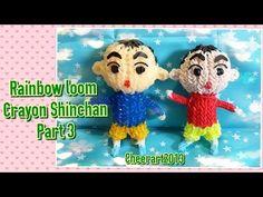 Rainbow loom C.S. Tutorial Part 3 彩虹橡筋編織小新教學 - YouTube