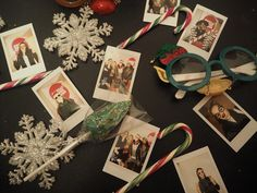 Blogosphere Christmas Market ; Instax Flat Lay Festive Jumpers, Xmas Jumpers, Balloon Decorations, Table Decorations, Glitter Stars, Train Rides, Poinsettia, Fairy Lights, Candy Cane