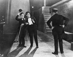 Chaplin originally cast actor Henry Clive as the suicidal millionaire. However, when filming began, Clive refused to jump into the cold water in the suicide scene. Chaplin promptly fired Clive and replaced him with Harry Myers.