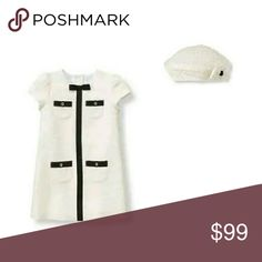Janie and jack boucle dress matching beret 6-12 M New with tags Janie and Jack Dresses Formal