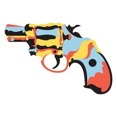 ***Please note: This listing is for a digital download of a cross stitch pattern that you can print off at home. It is in a PDF format, so it will require Adobe Reader or Preview for Mac to print them. The pattern can also be viewed on a computer or tablet.***  This is a PDF pattern of a snub nose gun. Geometric print of a hand gun. Modern in design.  Artist: Billy Hayes http://chickenbilly.com https://www.etsy.com/people/chickenbilly  Stitch count of 250x250 (see images for more info).  32…