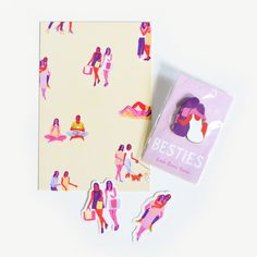 Besties Pin Pack from Leah Goren