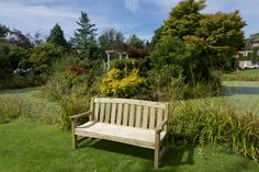 Anchor Fast Sidmouth 3 Seater Bench - Simply Wood