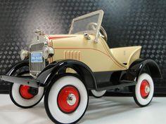 Pedal-Car-1920s-Ford-A-Hot-T-Rod-Rare-Vintage-Classic-Sport-Midget-Show-Model