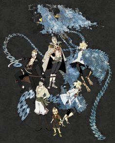 One Piece, Marco the Phoenix Character Sheet, Character Art, Blue Chicken, One Piece Nami, One Piece Pictures, One Piece Fanart, Aesthetic Art, Fan Art, Phoenix