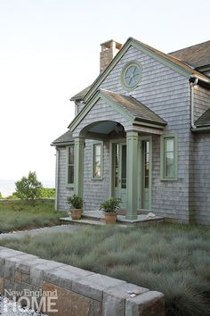 Renovated Rhode Island Beach Cottage Front Door