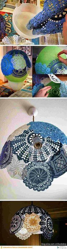 Cool lamp shade