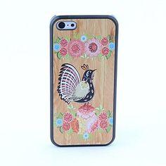 vogel en bloem stijl beschermende achterkant van de behuizing voor de iPhone 5c – EUR € 2.87