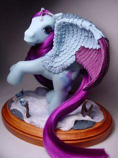 Wistful Winter pegasus pony by Woosie.deviantart.com on @deviantART
