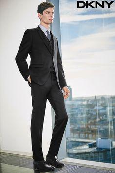 DKNY Black Suit #Alfaiatarias #Tricolines #FocusTextil