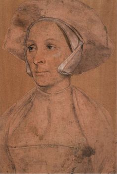 Portrait of a Young English Woman by Hans Holbein the Younger (roberthadley)