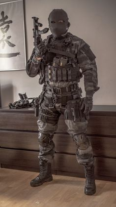A-Tacs LE & Ballistische Gesichtsmaske - Army - Militar Tactical Armor, Tactical Survival, Military Police, Military Weapons, Surplus Militaire, Military Special Forces, Airsoft Gear, Tactical Clothing, Armor Clothing