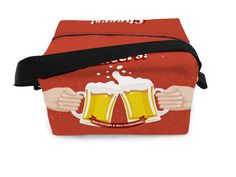 Lancheira Térmica Cerveja - 20x15x13cm - Dom Gato -  -  Dom Gato