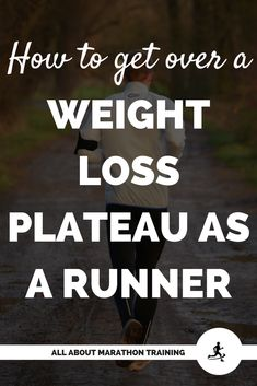 Is running for weight loss leaving you at a weight plateau? Best Weight Loss Plan, Losing Weight Tips, Weight Loss Program, Ways To Lose Weight, Healthy Weight Loss, Weight Loss Tips, Running For Beginners, Running Tips, Weight Plateau
