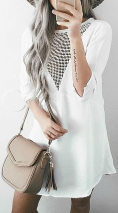 4fb284b1406a5 Best of New: Amuse Society Good Vibes Ivory Lace Dress Cute Work Outfits,  Casual