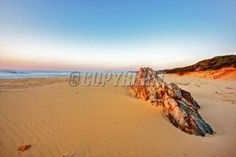 Sunrise by the beach in Tathra, NSW