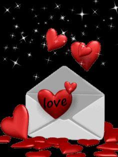 Valentine Love Letter gif