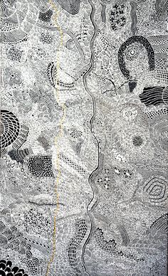 Une peinture de l'artiste aborigène de Papunya, Isobel Gorey NAMPITJINPA. #artaborigene #contemporain #australie Aboriginal Painting, Aboriginal Artists, Dot Painting, Acrylic Paintings, Art Occidental, Spiritual Beliefs, Galerie D'art, Indigenous Art, Outsider Art