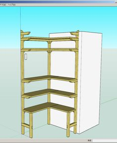 f:id:ll1a9o3ll:20140903181228j:plain Easy Peasy, Carpentry, Wood Projects, Shed, Pantry, Furniture, Home Decor, Fun Diy Crafts, Woodworking