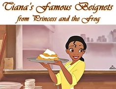 Tiana's Famous Beignets from the Disney movie, Princess and the Frog. Perfect for Mardi Gras or just for breakfast. Get the recipe at This Mama Cooks! On a Diet