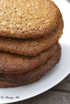 Skinny Molasses and Honey Oatmeal Cookies