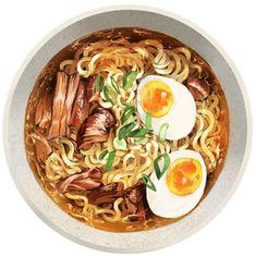 Food Design, Watercolor Food, Watercolour Illustration, Illustration Artists, Food Sketch, Food Cartoon, Cartoon Logo, Food Wallpaper, Food Painting