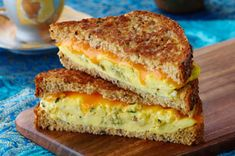 CRACKER BARREL Cheese Slices are perfect for our grilled sandwich! . . . might have to give this a try!!