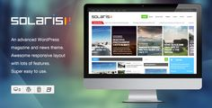 Solaris - Responsive WordPress Magazine Theme - http://fitwpthemes.com/solaris-responsive-wordpress-magazine-theme/