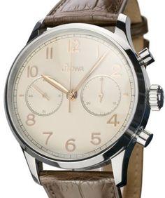 Stowa | Stowa Chronograph 1938 | Steel | Watch database watchtime.com