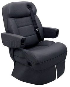 The Magellan RV captainu0027s chair is in the same luxury class as the Knight and DeLeon models This RV captainu0027s chair comes equipped with firm seat bolsters ...  sc 1 st  Pinterest & Chair bed combo perfect for the driveru0027s seat put on a swivel to ...