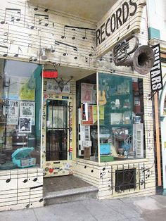 Record Store Front