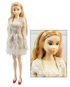 Beautiful Lace Doll Dress Doll Skirt/Momoko Clothes/Blythe Dress/Jenny Doll Dress