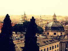 Veduta Di Roma: La veduta di Roma dalla terrazza del Pincio durante una gita scolastica nel 2006. #travel #italy #rome