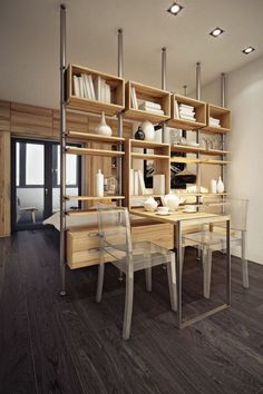 Another small apartment with a smart and open interior design