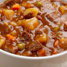 Slow Cooker Beef Stew @keyingredient #slowcooker