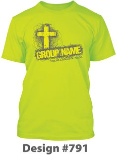 Youth Ministry Cross T Shirt Design. Cool Shirt