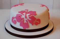 The Samoan Hibiscus Cake 1 by Green Leaf Cakes, - that is cool!