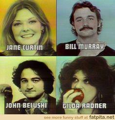 Vintage Saturday Night Live.