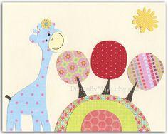 Baby Owl Nursery Decor Owl Nursery Art Featuring by DesignByMaya