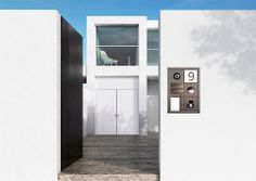 SSS Siedle Door Station - Vario . . . the modular icon  #siedle #intercoms #purenetworks