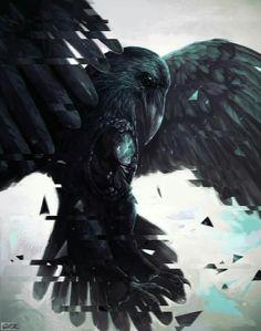 Super Ideas For Mountain Ash Tree Tattoo Crows Ravens Raven And Wolf, Quoth The Raven, Raven Bird, Crow Art, Bird Art, Corvo Tattoo, Hai Tattoos, Mountain Ash Tree, Rabe Tattoo