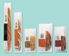 packaging bread - Google Search                                                                                                                                                                                 More