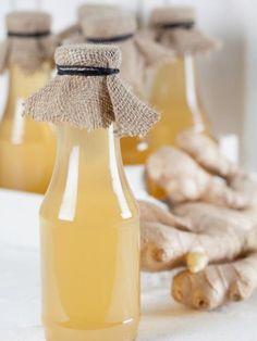 gingembre, citron, vanille, eau, cannelle, sucre
