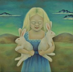 My little painting 'Albinos' has recently been published in a book about medecine, of all things!The book 'PATIENTS AS ART' by Original Art For Sale, Original Artwork, Original Paintings, Albino, Oil Painting On Canvas, Artist At Work, Illustrators, Saatchi Art, Hare