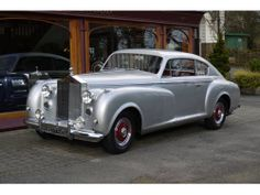 Rolls-Royce Silver Dawn 1951 2-door Fastback Coupé by Pininfarina. Only 1 made.