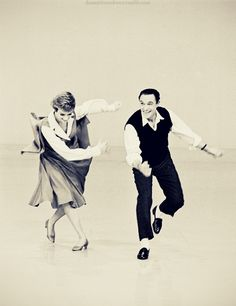 Gene Kelly and Julie Andrews (I love this shot.)